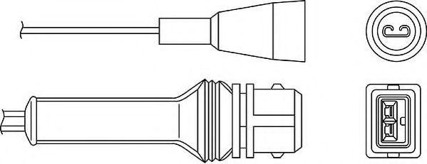 OZH044 BERU Lambdasonde