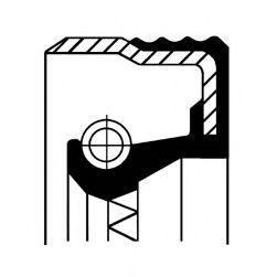 12012709B CORTECO Wellendichtring, Kurbelwelle; Wellendichtring, Differential; Wellendichtring, Nockenwelle