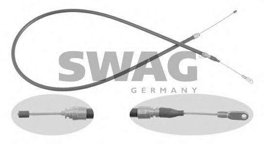 10 91 8113 SWAG Cable, parking brake