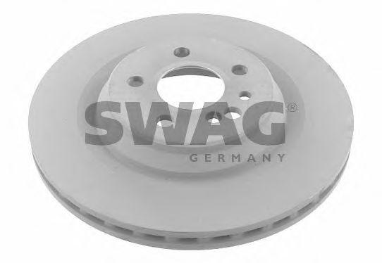 10 92 4957 SWAG Bremsscheibe