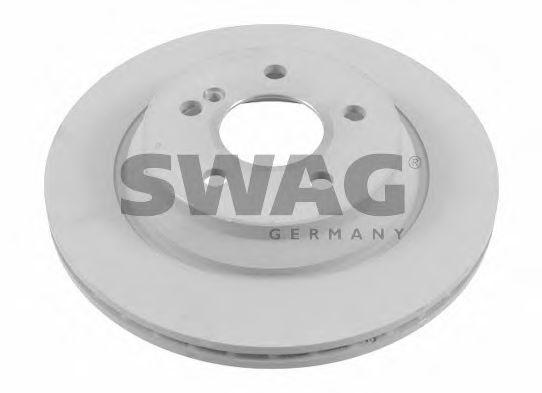 10 92 6108 SWAG Brake Disc