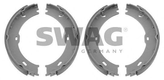 10 93 2951 SWAG Bremsbackensatz, Feststellbremse
