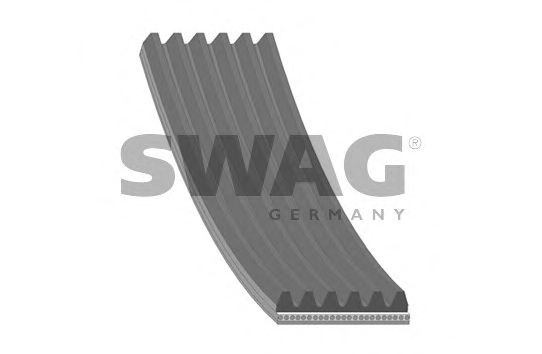 10 93 4486 SWAG V-Ribbed Belts