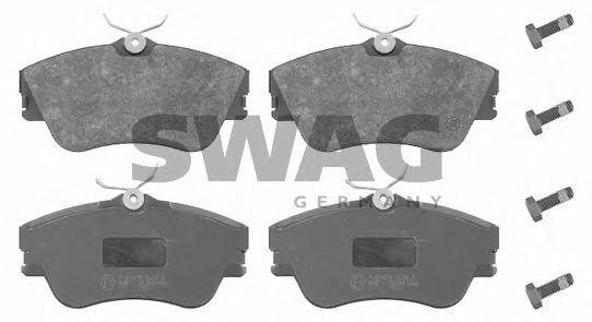 30 91 6304 SWAG Bremsbelagsatz, Scheibenbremse