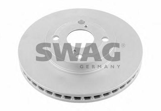 81 92 6185 SWAG Brake Disc