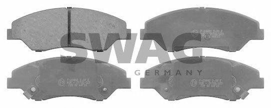 91916557 SWAG Brake Pad Set, disc brake