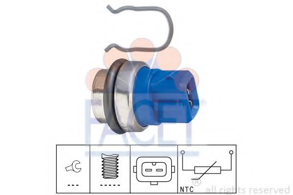7.3101 FACET Sensor, Kühlmitteltemperatur