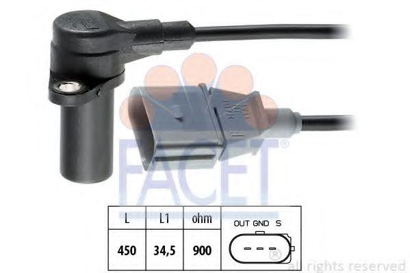 9.0383 FACET Датчик импульсов; Датчик частоты вращения, управление двигателем