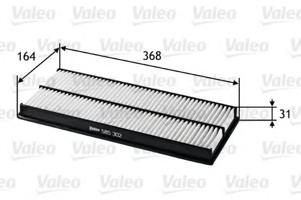 585302 VALEO Воздушный фильтр