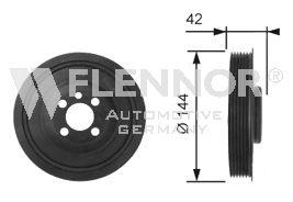 FVD99523 FLENNOR Ременный шкив, коленчатый вал