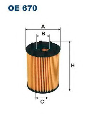 OE670 FILTRON Ölfilter