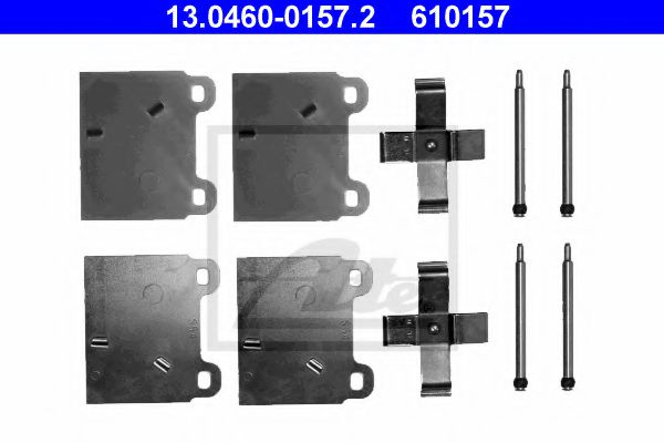 13.04600157.2 ATE Accessory Kit, disc brake pads