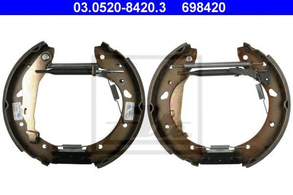 03.0520-8420.3 ATE Brake Shoe Set
