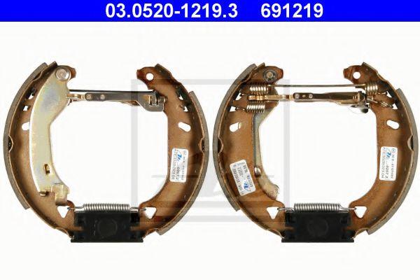 03.0520-1219.3 ATE Brake Shoe Set