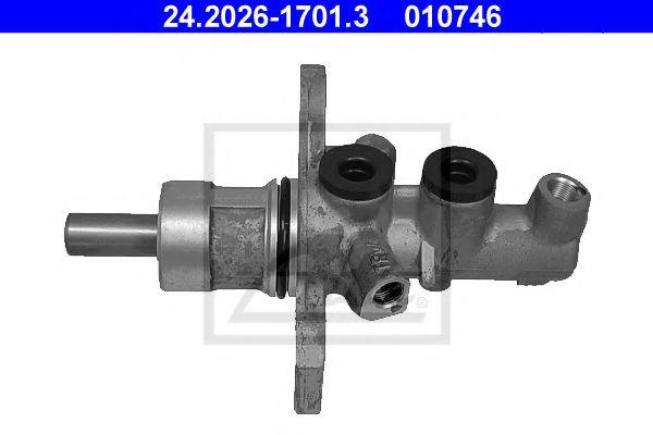 24.2026-1701.3 ATE Brake Master Cylinder