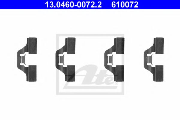 13046000722 ATE Accessory Kit, disc brake pads