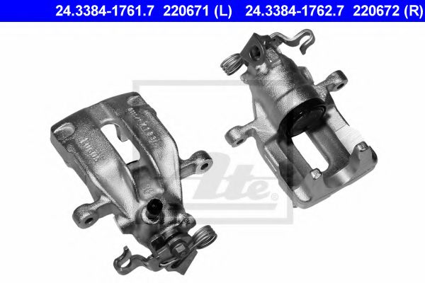 24338417627 ATE Brake Caliper