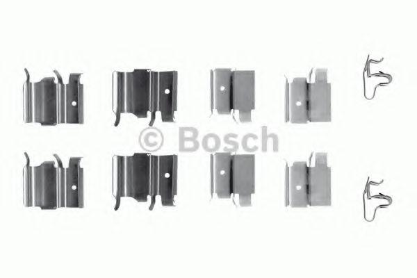 1987474321 BOSCH Комплектующие, колодки дискового тормоза