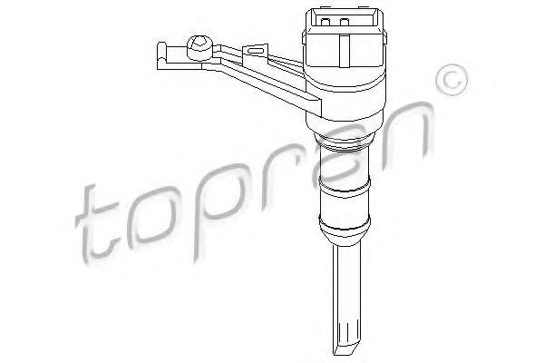109 665 TOPRAN Sensor, Geschwindigkeit