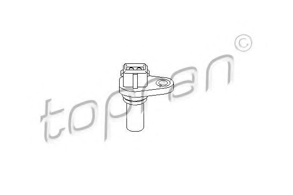 110 671 TOPRAN Sensor, Geschwindigkeit; Sensor, Geschwindigkeit/Drehzahl; Sensor, Wegstrecke