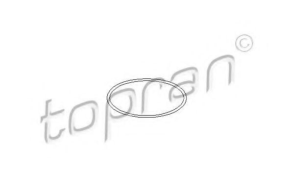 104 532 TOPRAN Dichtung, Zwischenwelle