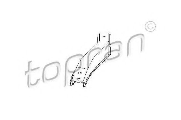 200 473 TOPRAN Рычаг независимой подвески колеса, подвеска колеса