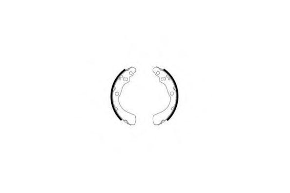 09-0580 E.T.F. Комплект тормозных колодок