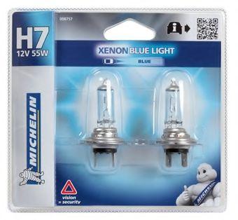 008757 MICHELIN Лампа накаливания, фара дальнего света; Лампа накаливания, основная фара; Лампа накаливания, противотуманная фара