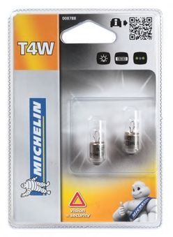 008788 MICHELIN Лампа накаливания, фонарь указателя поворота; Лампа накаливания, фонарь освещения номерного знака; Лампа накаливания, задний гарабитный огонь; Лампа накаливания, стояночные огни / габаритные фонари