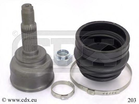 203 CDX Шарнирный комплект, приводной вал