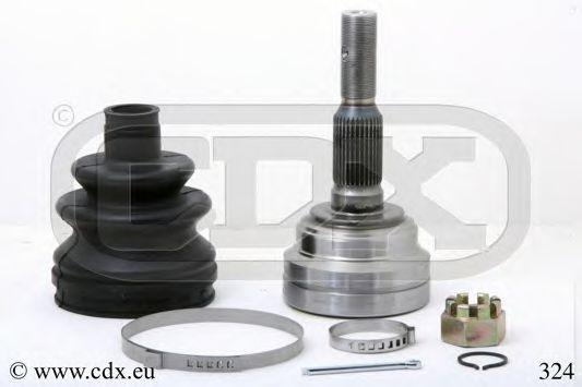 324 CDX Шарнирный комплект, приводной вал