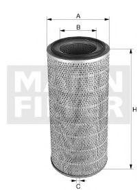 C27798 MANN-FILTER Воздушный фильтр