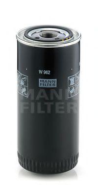 W 962 MANN-FILTER Масляный фильтр; Гидрофильтр, автоматическая коробка передач; Фильтр, Гидравлическая система привода рабочего оборудования