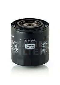 W 11 007 MANN-FILTER Масляный фильтр