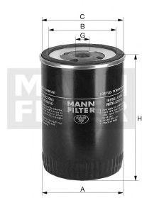 WK1124 MANN-FILTER Топливный фильтр