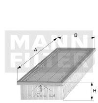 C4280 MANN-FILTER Воздушный фильтр