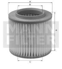 C18263 MANN-FILTER Воздушный фильтр