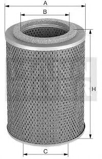 H 12 105 x MANN-FILTER Масляный фильтр; Гидрофильтр, автоматическая коробка передач; Фильтр, Гидравлическая система привода рабочего оборудования