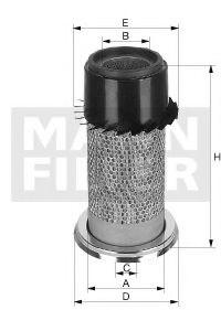 C 16 340 MANN-FILTER Воздушный фильтр