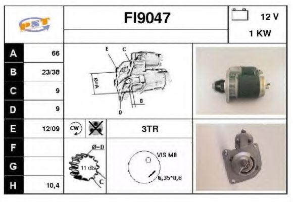 FI9047 SNRA Стартер