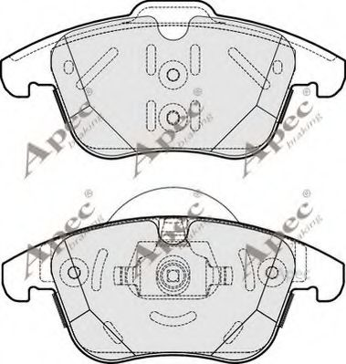 1566232 - FORD Brake Pad Set, disc brake