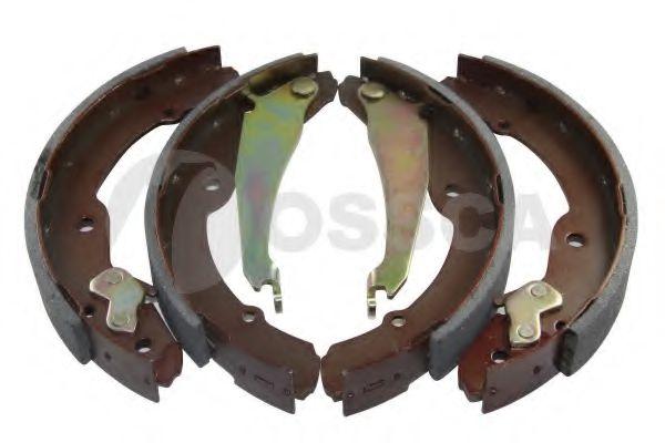 06143 OSSCA Комплект тормозных колодок