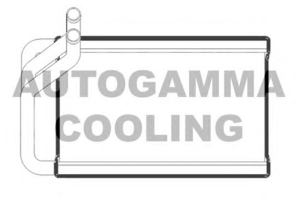 105278 AUTOGAMMA Теплообменник, отопление салона