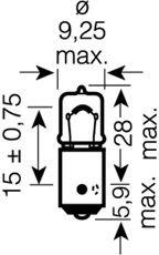 64132 OSRAM Лампа накаливания, фонарь указателя поворота; Лампа накаливания, фонарь освещения номерного знака; Лампа накаливания, фара заднего хода; Лампа накаливания, задний гарабитный огонь; Лампа накаливания, oсвещение салона; Лампа накаливания, фонарь освещения багажника; Лампа накаливания, стояночные огни / габаритные фонари; Лампа накаливания; Лампа накаливания, стояночный / габаритный огонь; Лампа накаливания, стояночный / габаритный огонь; Лампа, лампа чтения; Лампа накаливания, фара дневного освещения; Лампа накаливания, фара дневного освещения