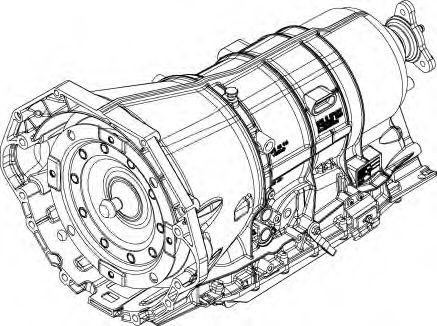 1070.012.035 ZF Автоматическая коробка передач