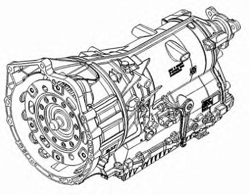 1090.016.107 ZF Автоматическая коробка передач