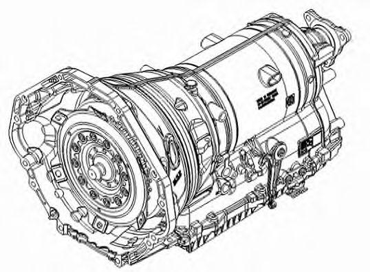 1087.012.016 ZF Автоматическая коробка передач