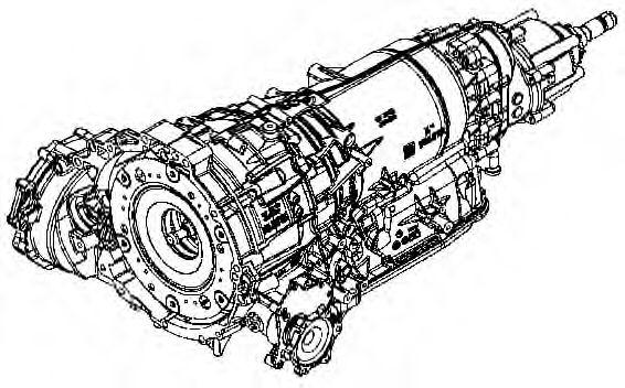 1087.032.020 ZF Автоматическая коробка передач