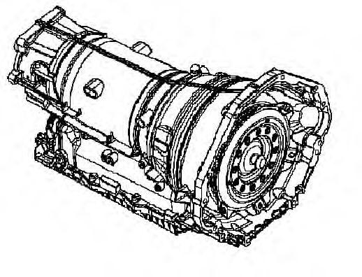 1087.026.089 ZF Автоматическая коробка передач