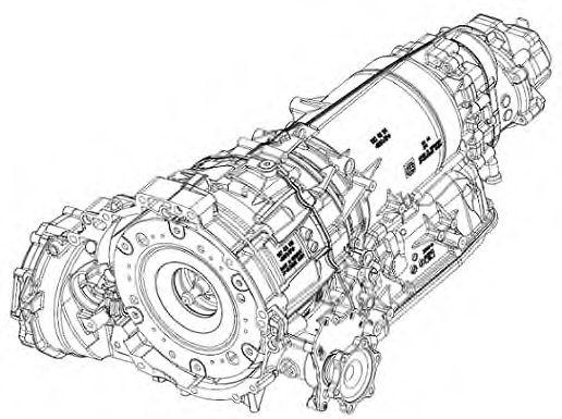 1087.066.006 ZF Автоматическая коробка передач